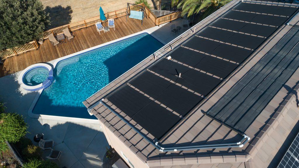 Chauffage de piscine solaire
