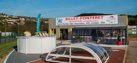 Devanture magasin Billet Fonteret