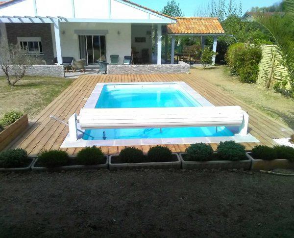 Réalisation piscine Sweetline