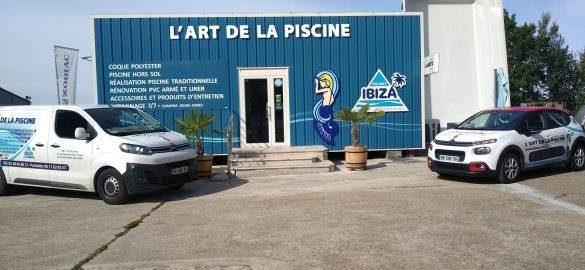 Art de la piscine à Fontenay-sur-Loing