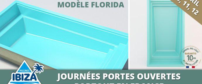 Journées portes ouvertes et présentation du nouveau modèle Florida !