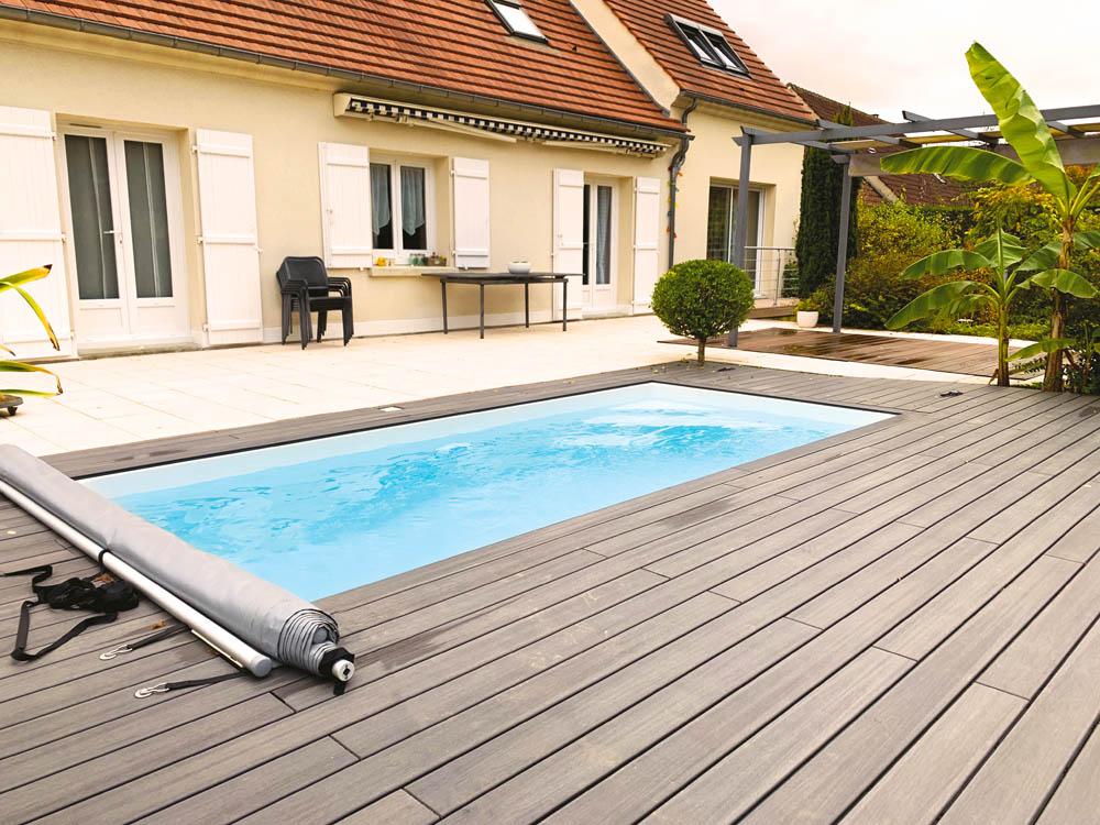 piscine coque rectangulaire tropica image1