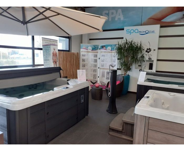 Showroom Spa à Nantes Piscines Ibiza