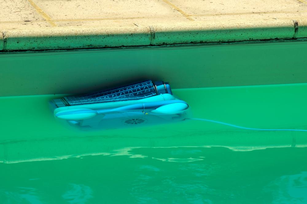 Robot dans une eau trouble