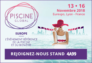 Stand 4A99 au Salon Piscine Global Europe