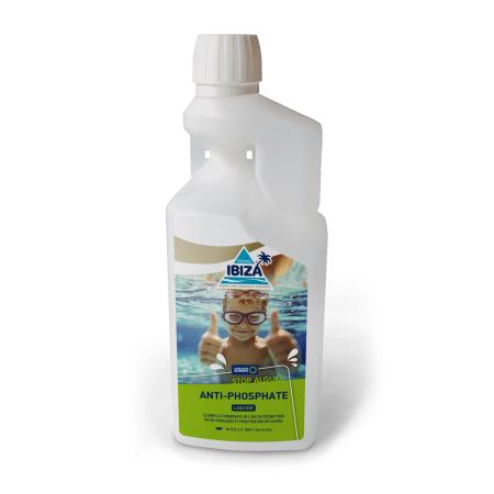 Produit de traitement gamme Piscines Ibiza stop algues