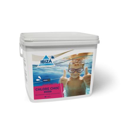 Produit de traitement gamme Piscines Ibiza désinfection