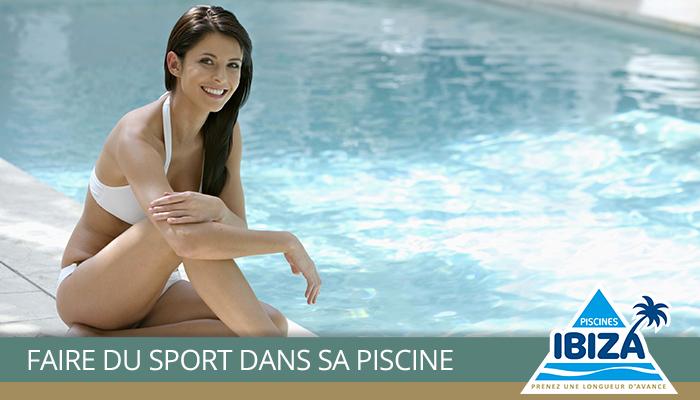 comment faire du sport dans sa piscine