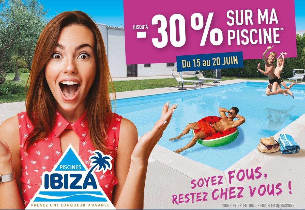 Semaine folle sur les piscines du 15 au 20 juin 2020