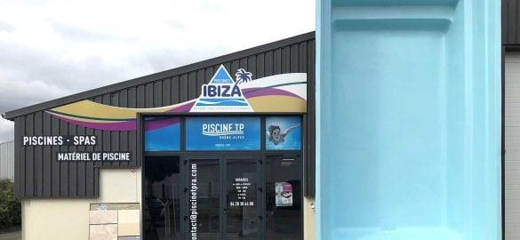Devanture Piscines Ibiza TP Rhone Alpes