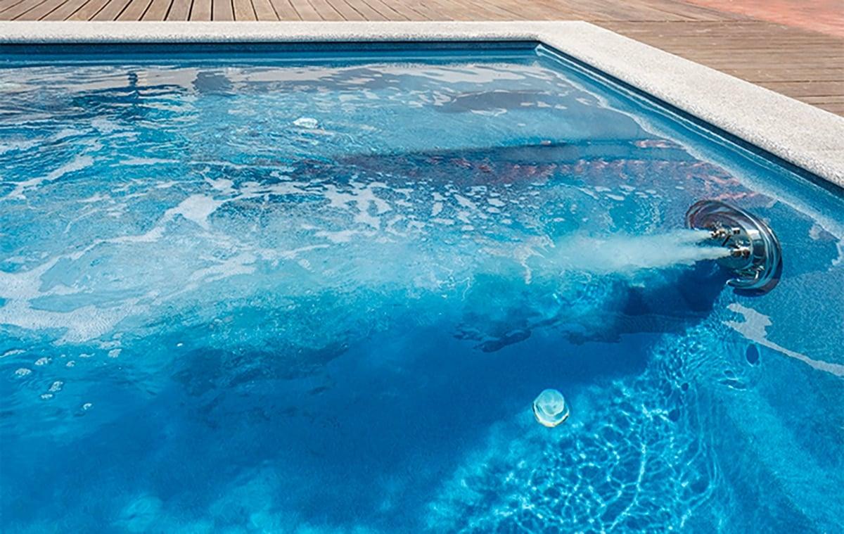 Vanne de nage à contre-courant