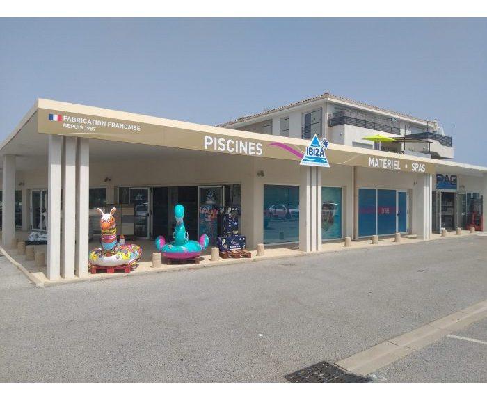 Magasin de piscine à Sainte Maxime